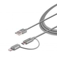 Targus-LGTNG Cable gray