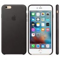 iPhone 6 Plus / 6s Plus Leather Case - Black
